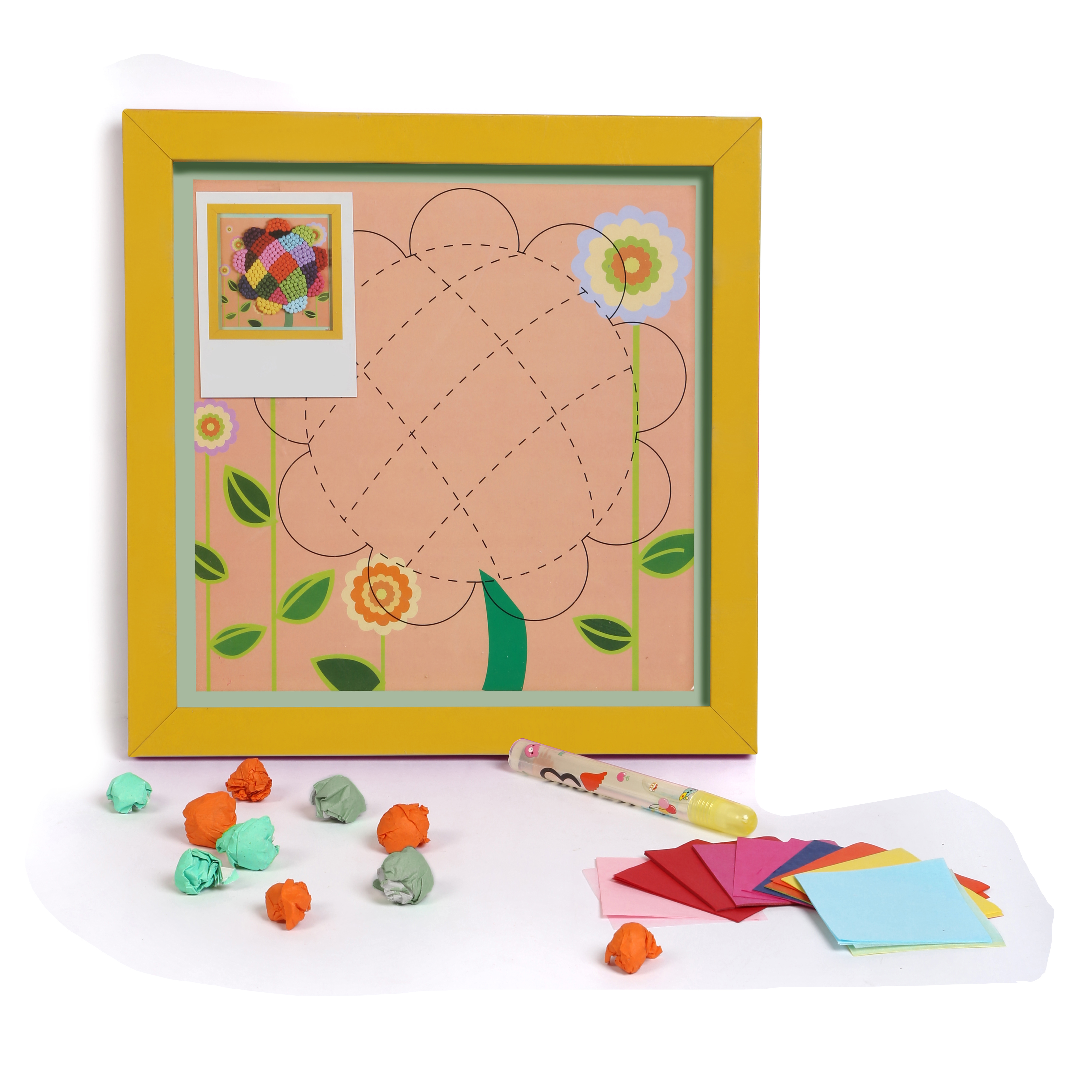 wwwbabyoodlescom Diy 3d Paper Craft Wall Hanging Flower
