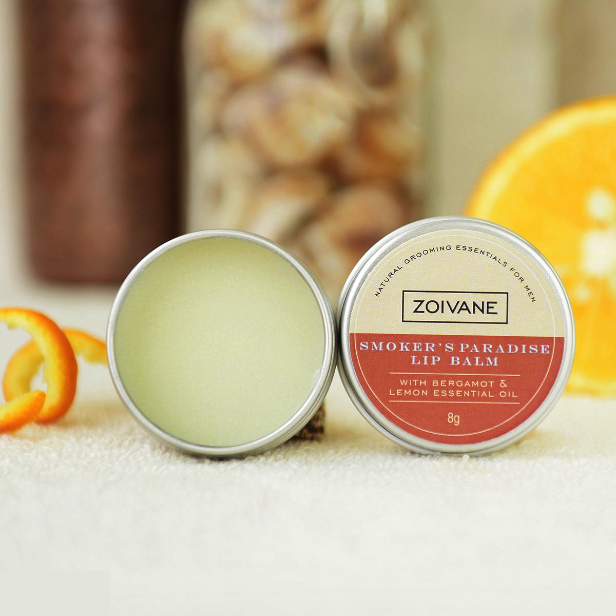 zoivanemen Zoivane Men Natural Lip Balm | Pack Of 2 Desire And Smoker Lip Balm For Men (10 Gm Per Product)