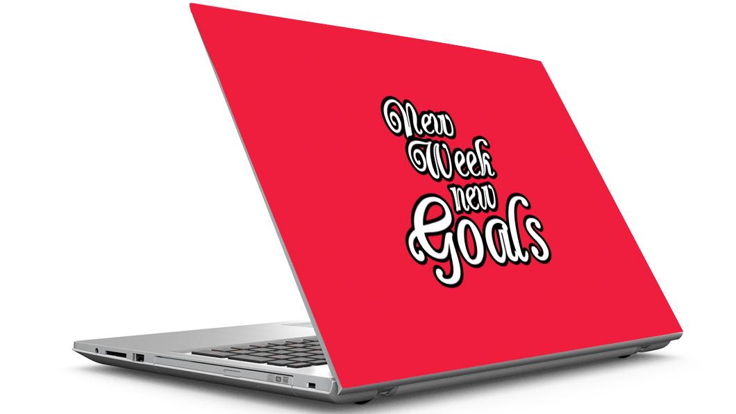 jutebagenterprises New Week Laptop Skin