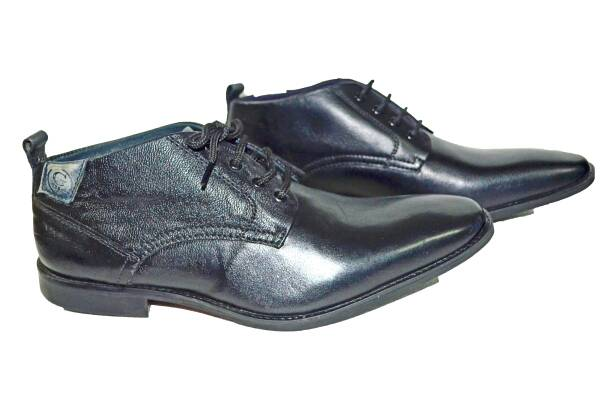 vanshikacreations Black Formals Genuine Leather