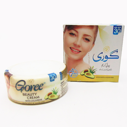 cosmicare Goree Whitening Beauty Cream With Lycopene ( Avocado & Aloevera )