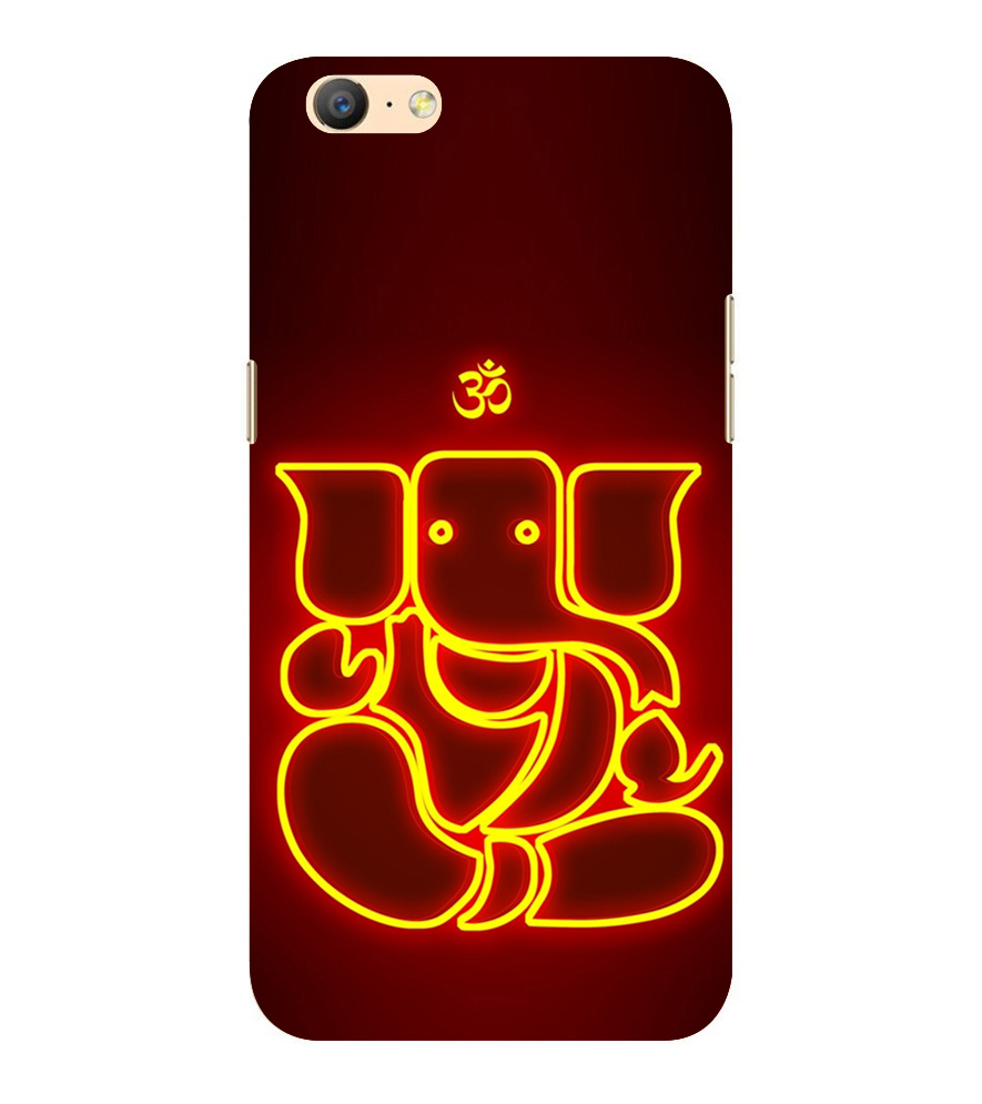 Buy Babula Designer Back Case Cover For Oppo A57 Lord Of Obstacles Buddhi Ganapati Printed Cell