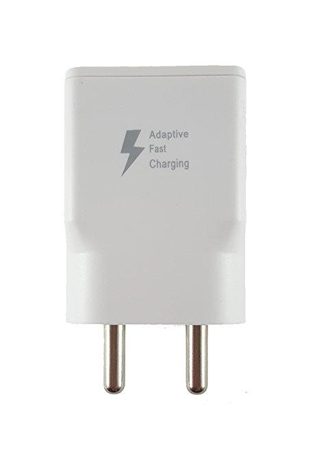 vardaanmart Samsung Galaxy On7 Compatible Charger With Usb Cable 1 Meter - White