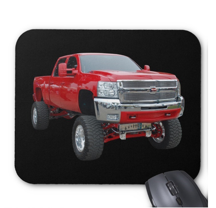 babeezz Fantaboy 4x4 -truck  Printed Mouse Pad