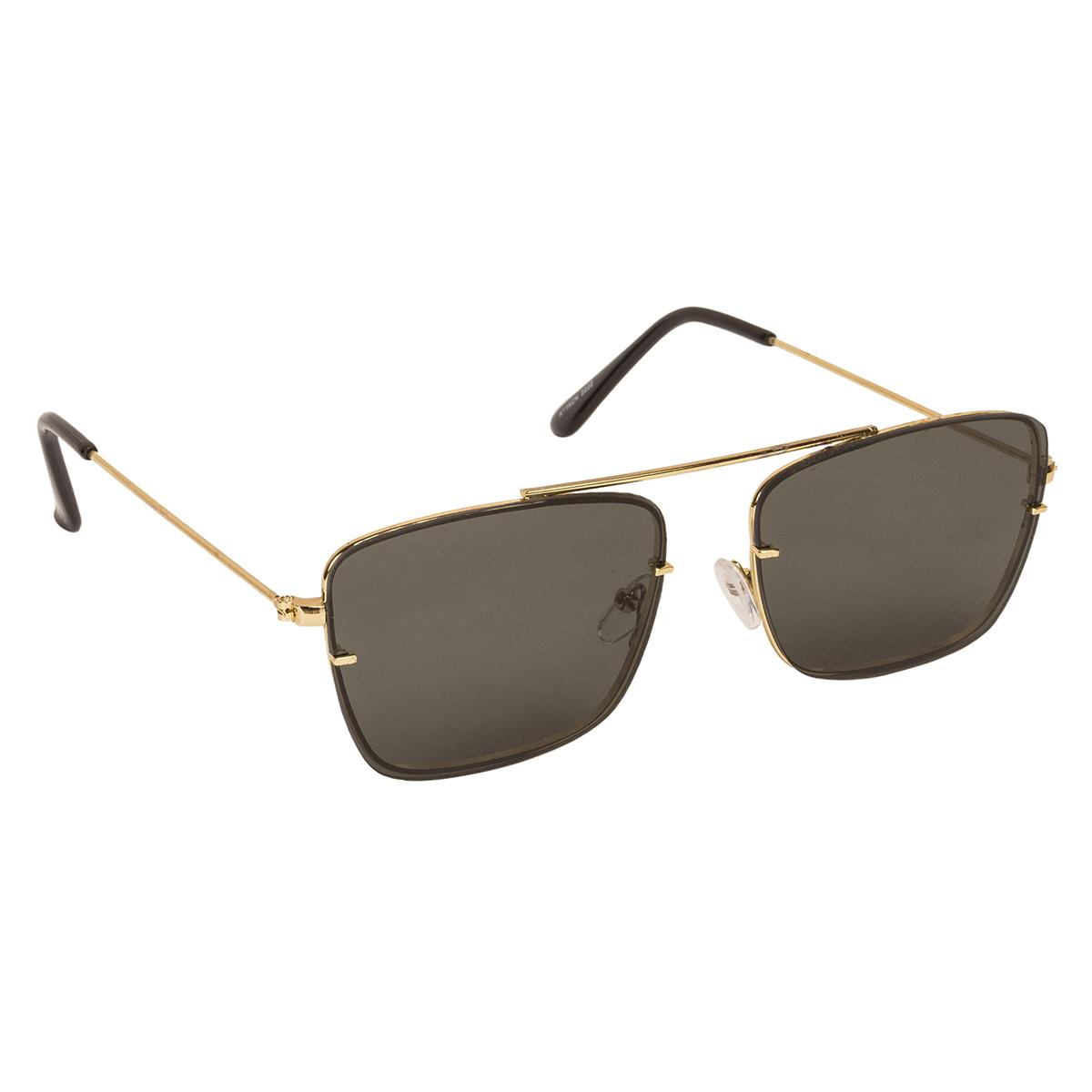 1b9a8cdf30d Arzonai Green Square Sunglasses ( MA-2222-S7 )