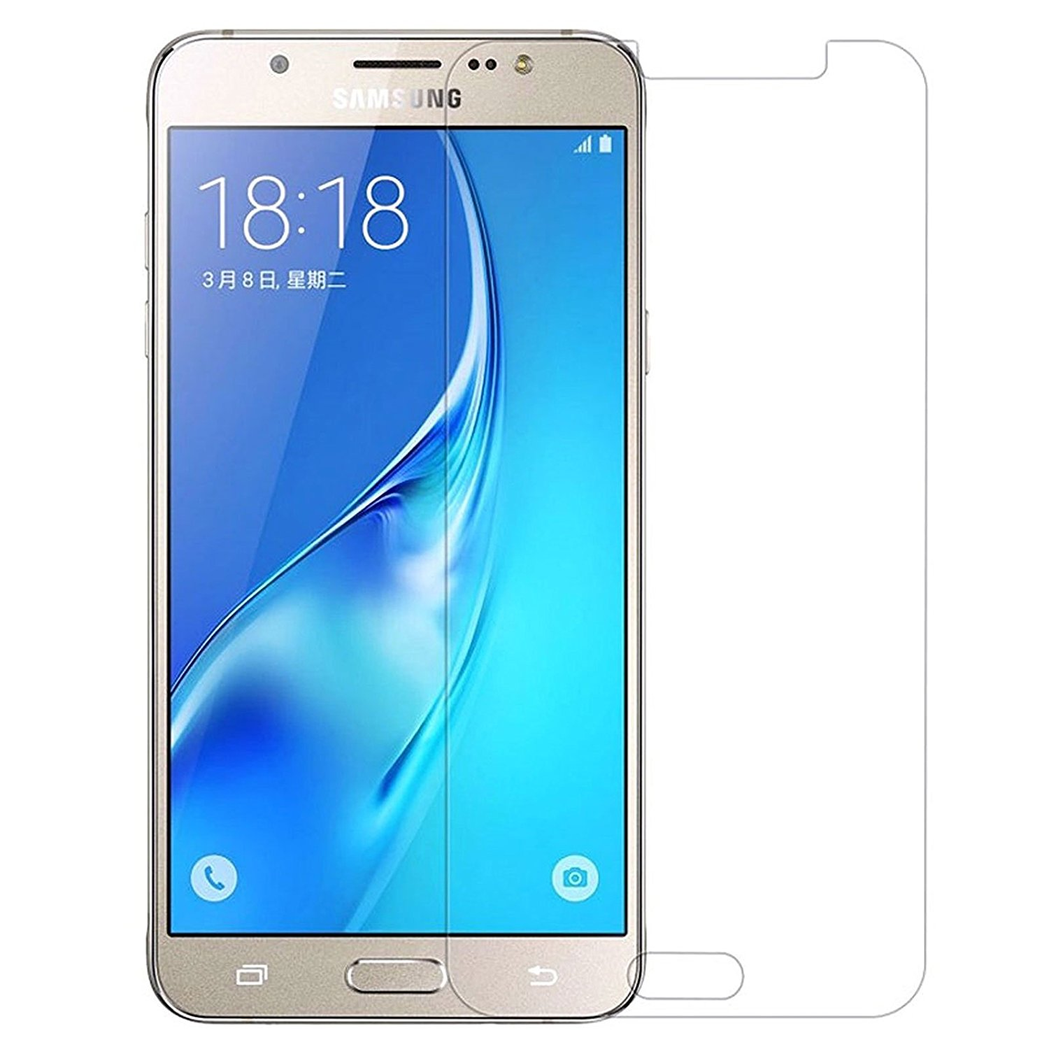 binghub Bing Hub Galaxy J7 (2016) Tempered Glass, For J7 Mobile Phone. Best Quality Product .