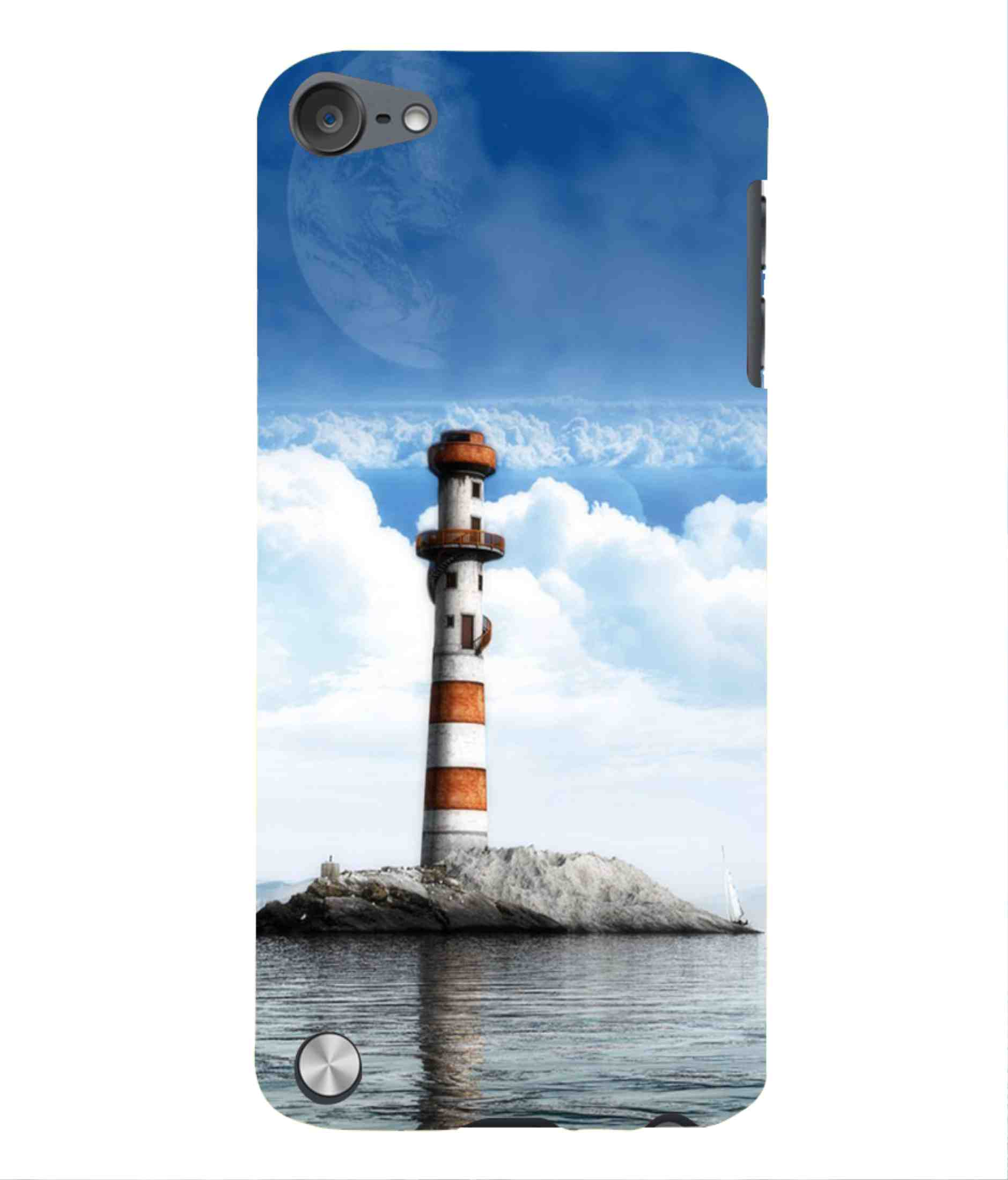chaploos For Apple Ipod Touch 5 J Alphabet Printed Cell Phone Cases Cha-ipodtouch5-a091