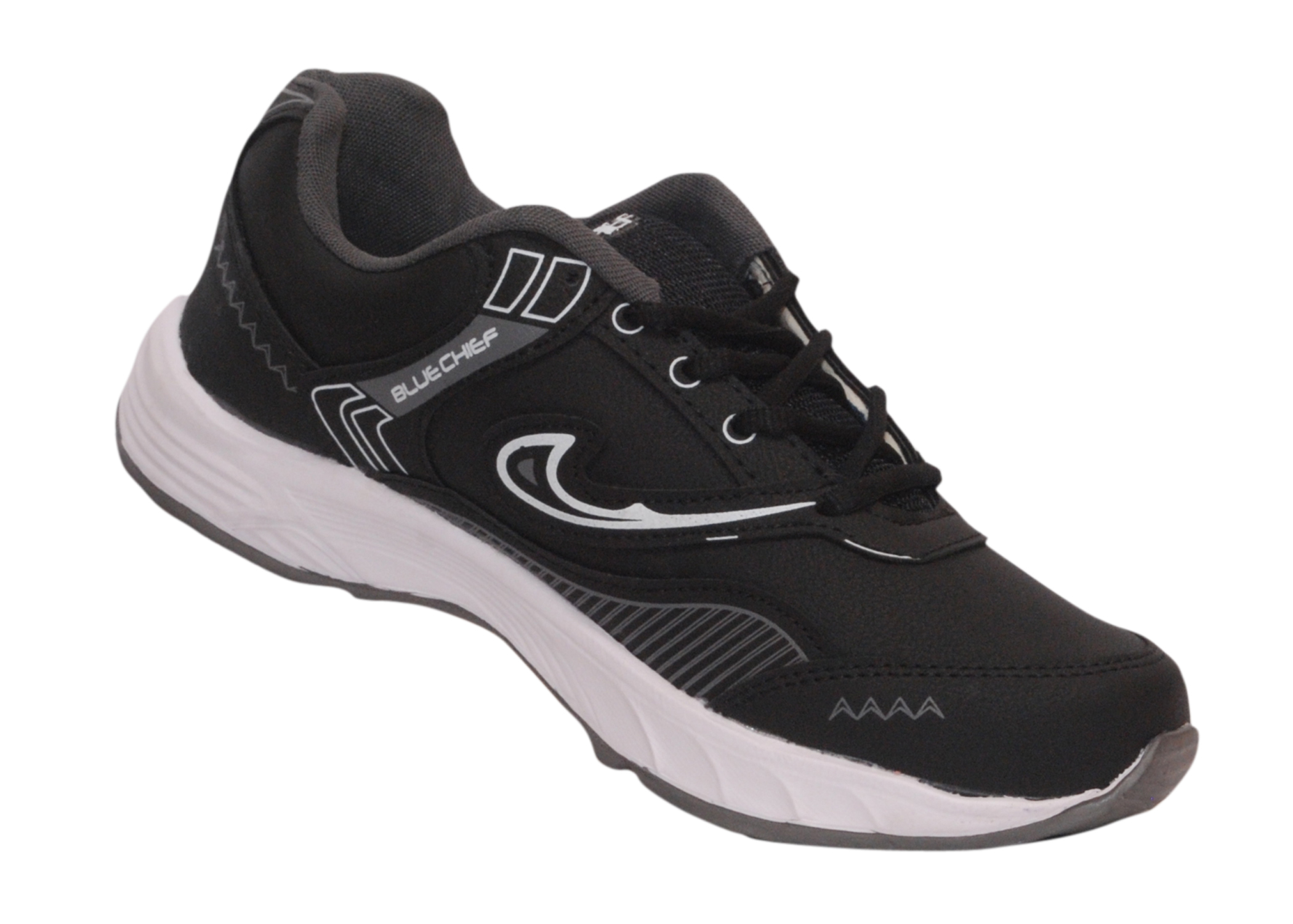 creativefashion8 The Blue Chief Running Shoes Bc5-whitenblack