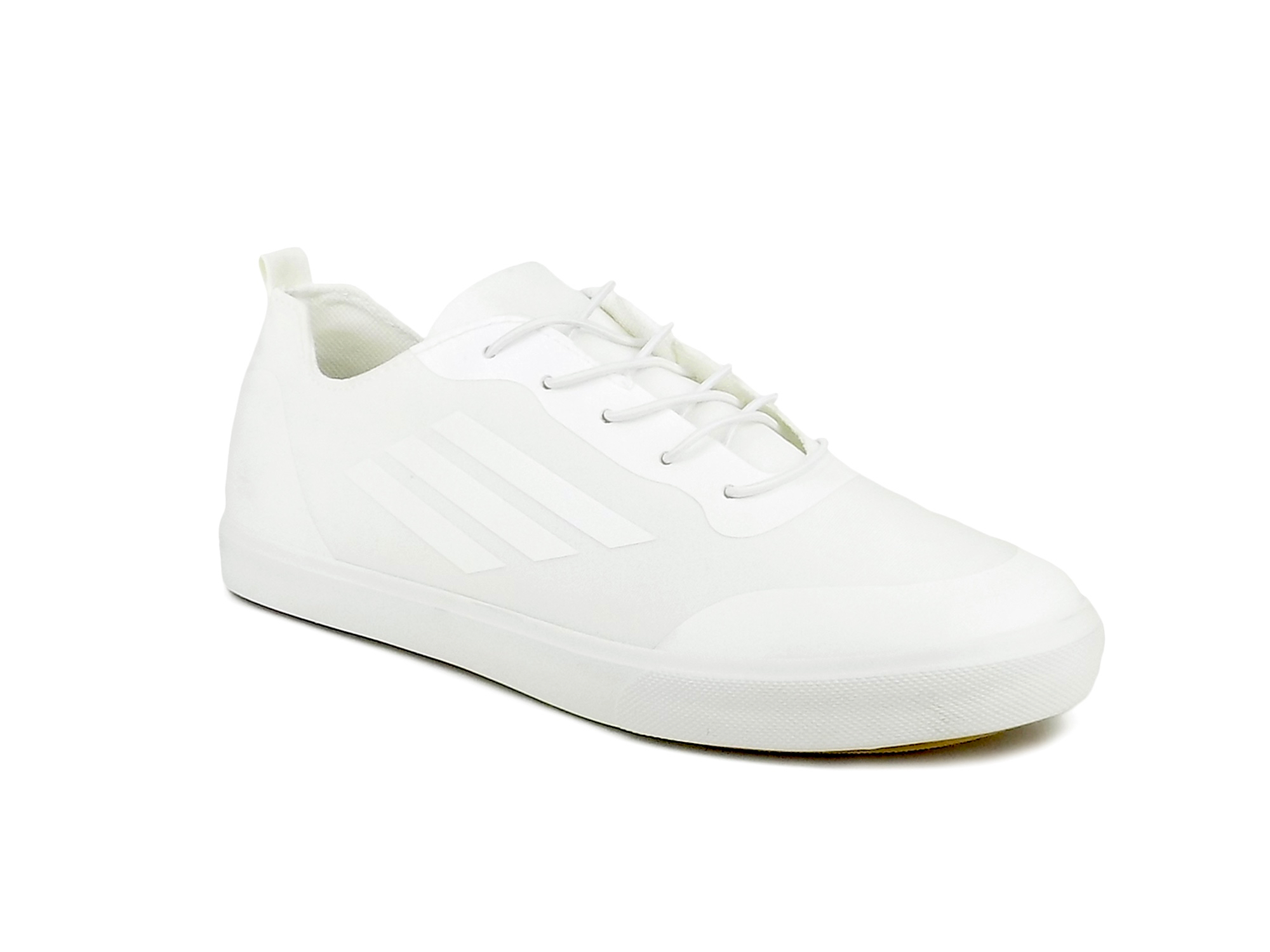 vantagesales Ripley Magnet Series White Leatherette Casual Shoes