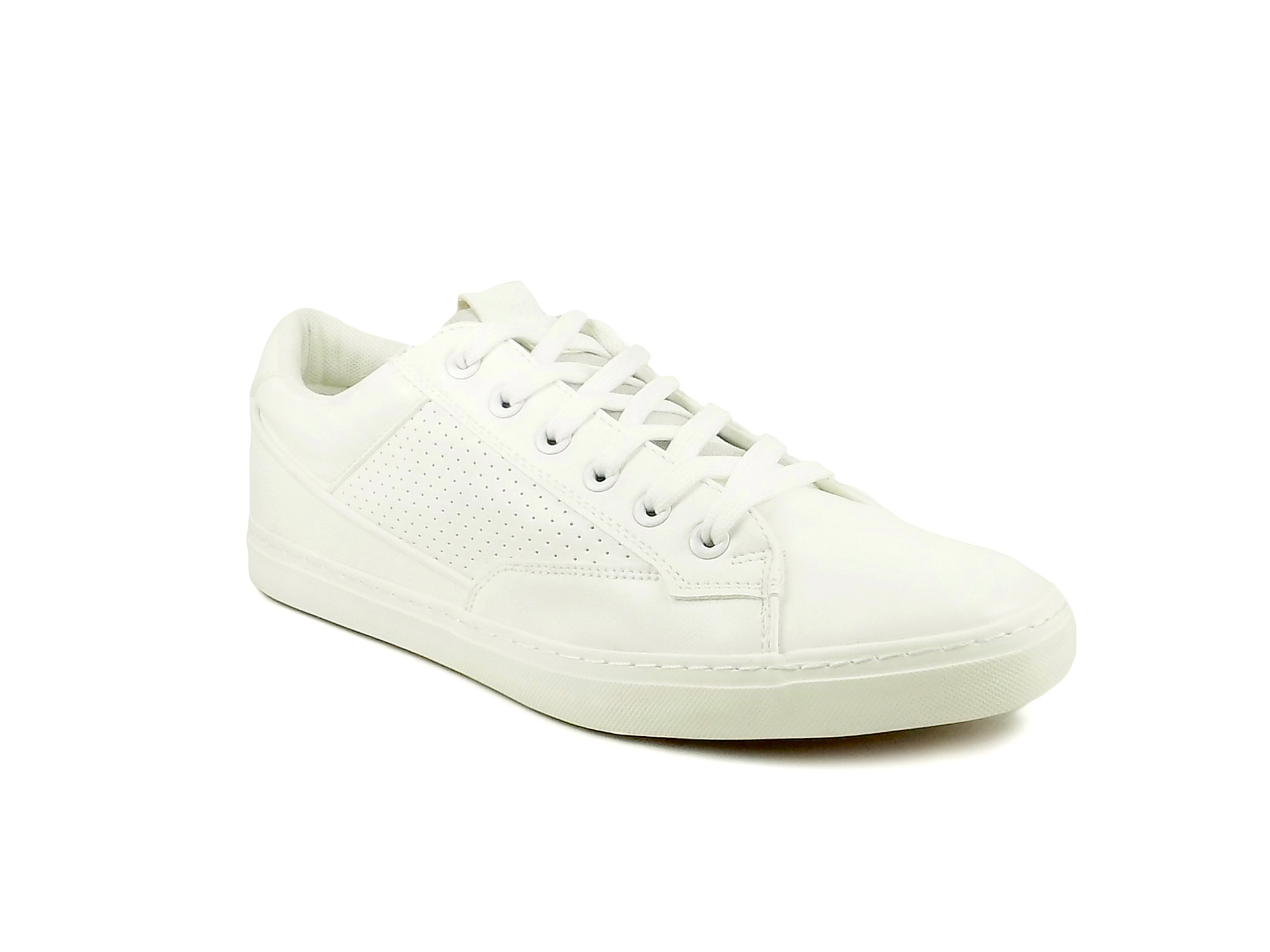 vantagesales Ripley White Leatherette Series Casual Shoes 76
