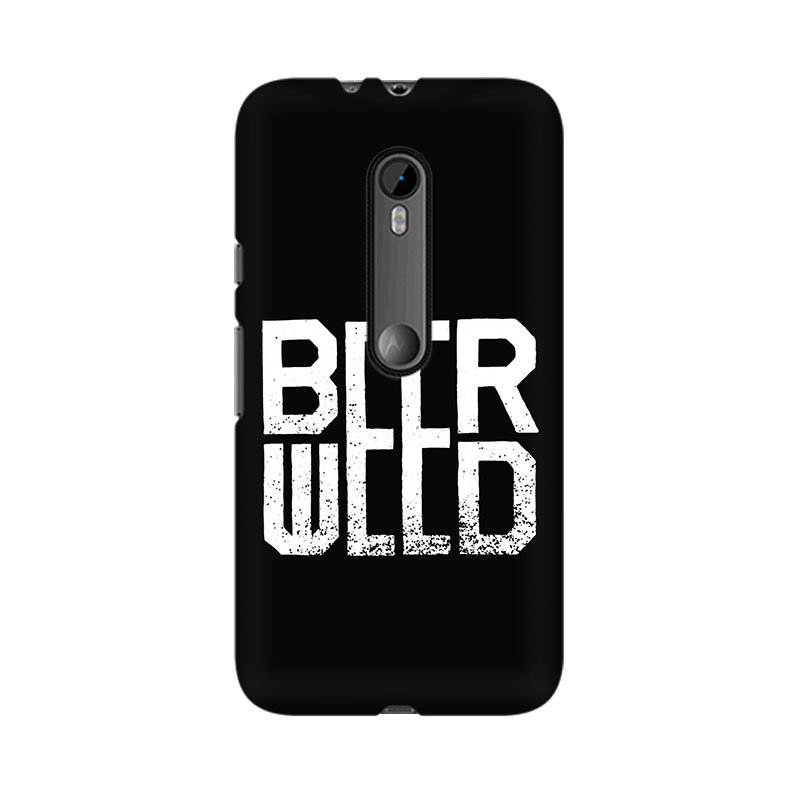 tribalowl Moto X Play Beerweed Tribal Owl Printed Mobile Case