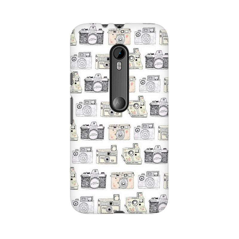 tribalowl Moto X Play Cameras Tribal Owl Printed Mobile Case