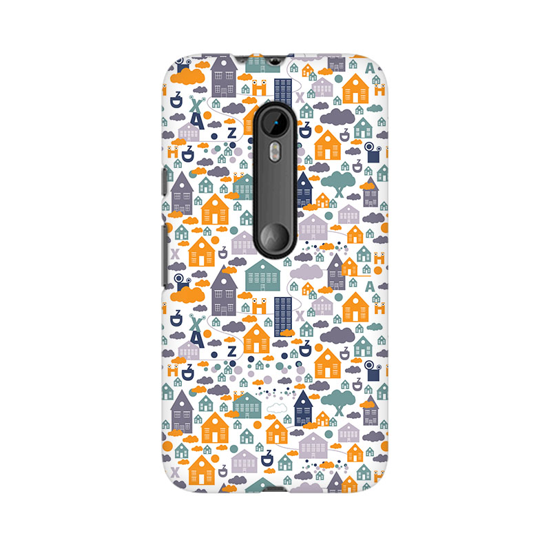 tribalowl Moto X Play Casute Tribal Owl Printed Mobile Case