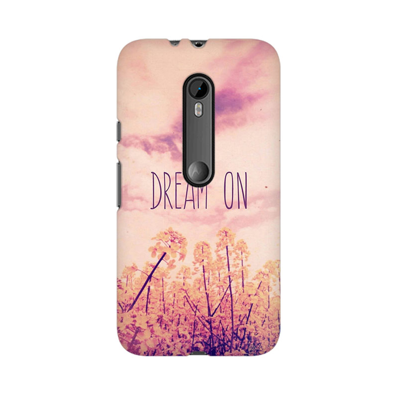 tribalowl Moto X Play Dream On Tribal Owl Printed Mobile Case