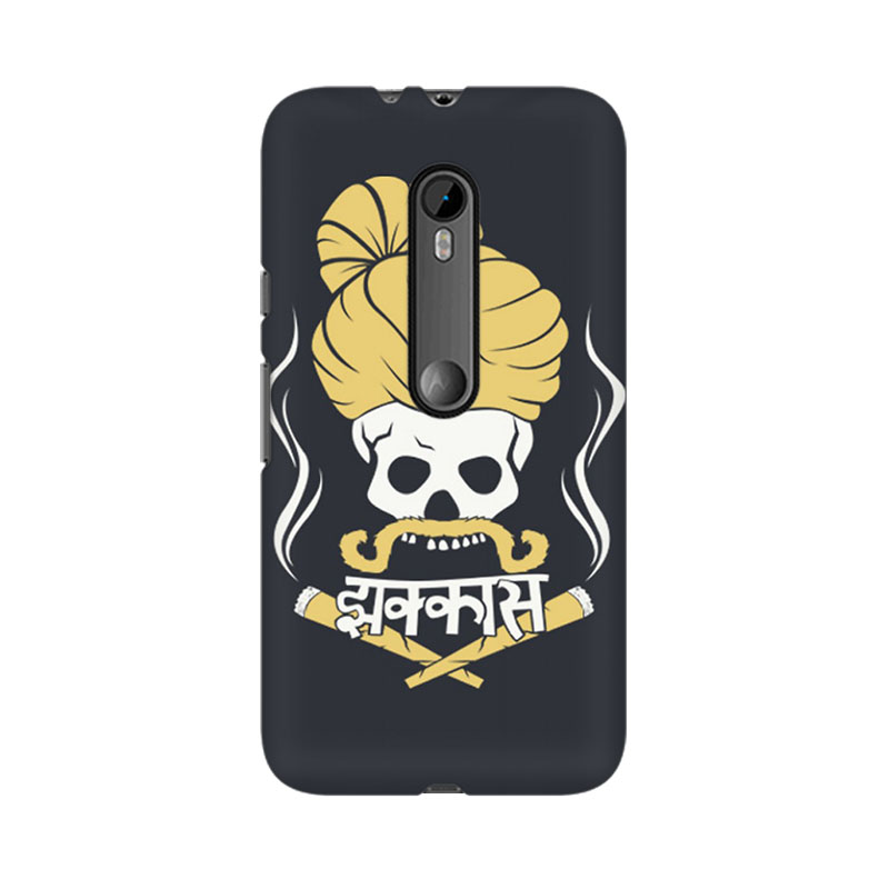 tribalowl Moto X Play Jhakkas Tribal Owl Printed Mobile Case