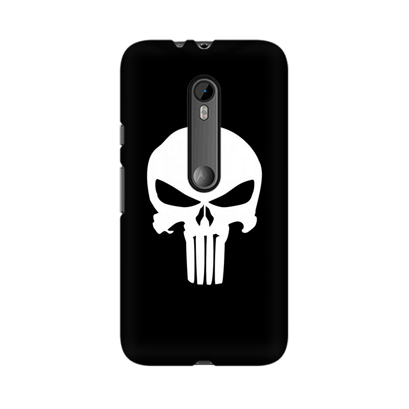 tribalowl Moto X Play Skull Tribal Owl Printed Mobile Case