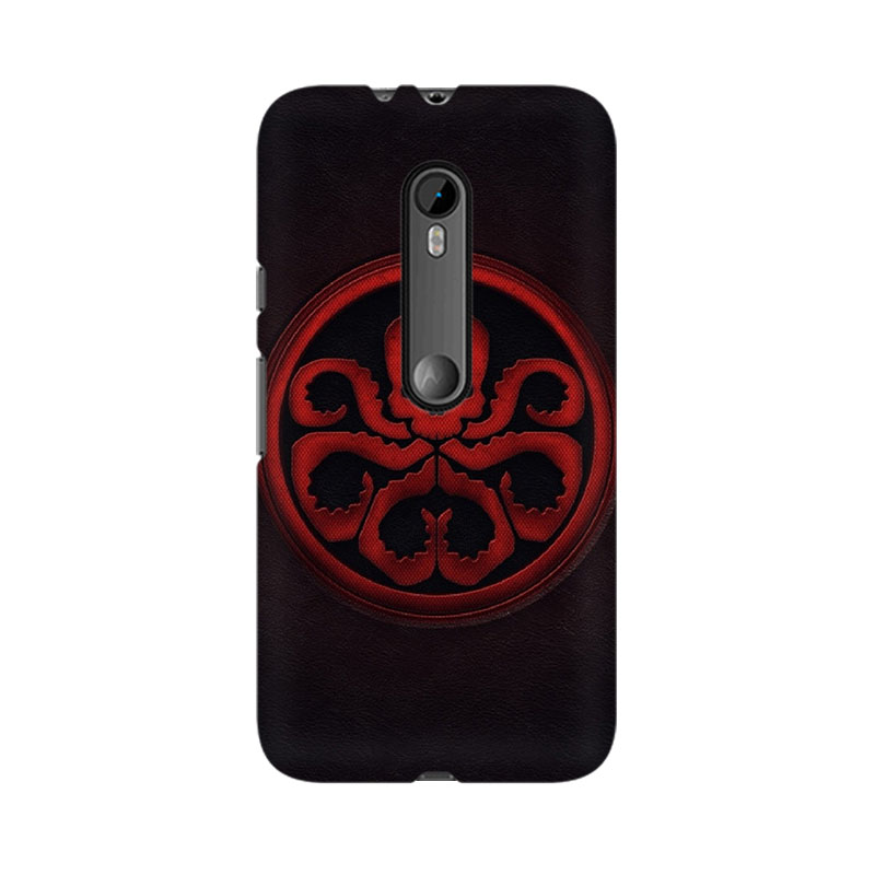 tribalowl Moto X Play Skuluctopus Tribal Owl Printed Mobile Case