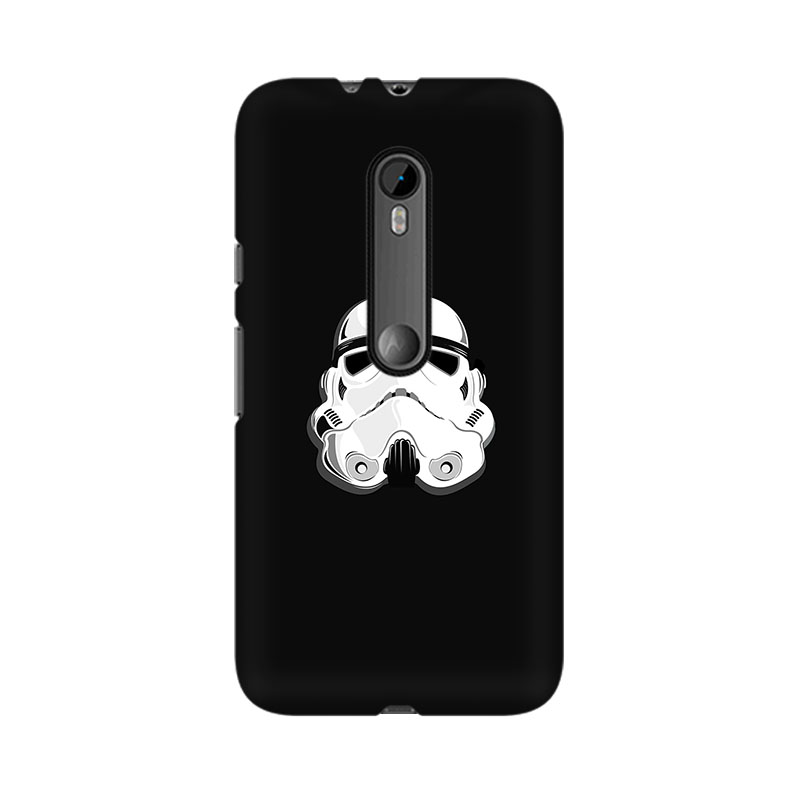 tribalowl Moto X Play Stormtrooper Tribal Owl Printed Mobile Case