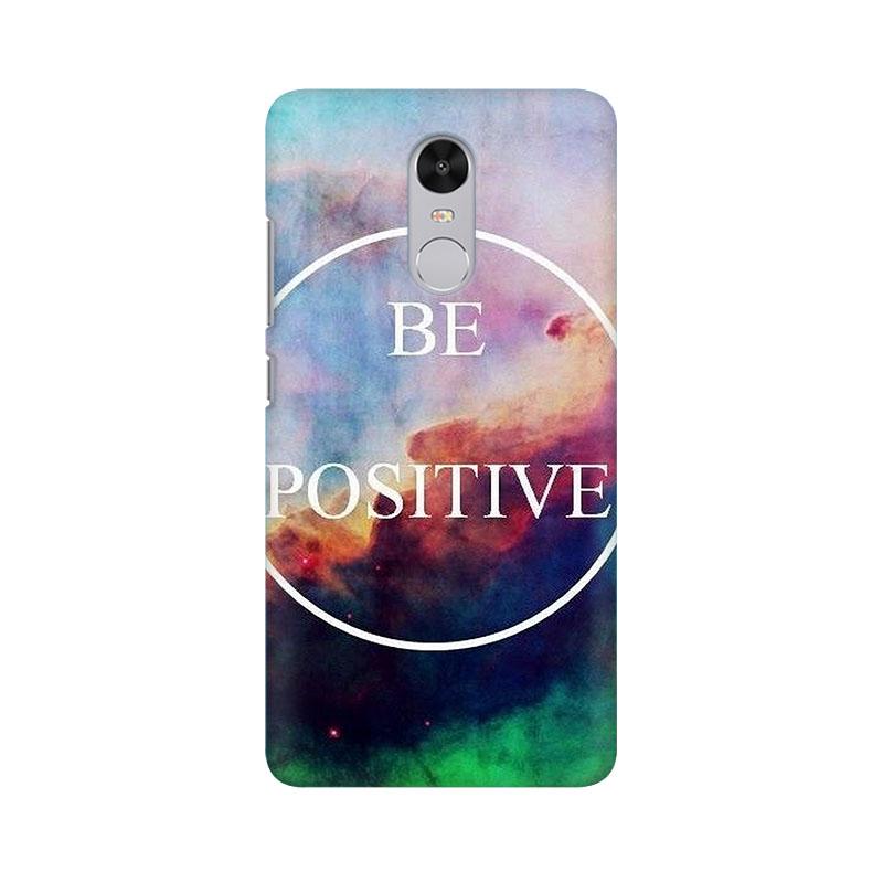 tribalowl Xiaomi Redmi Note 4 Be Positive Tribal Owl Printed Mobile Case