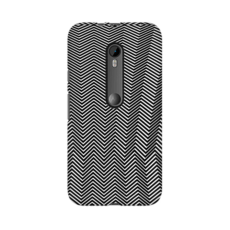 makwanaweb Moto X Play Illusion Skyscrapers Mobile Back Case Cover
