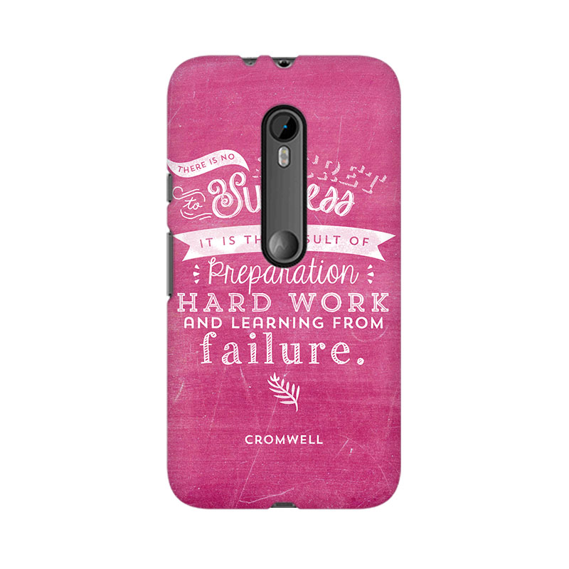makwanaweb Moto X Play Secret To Success Mobile Back Case Cover