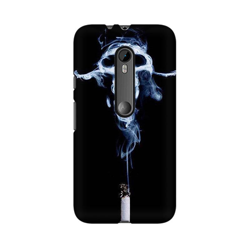makwanaweb Moto X Play Smoking Kills Mobile Back Case Cover
