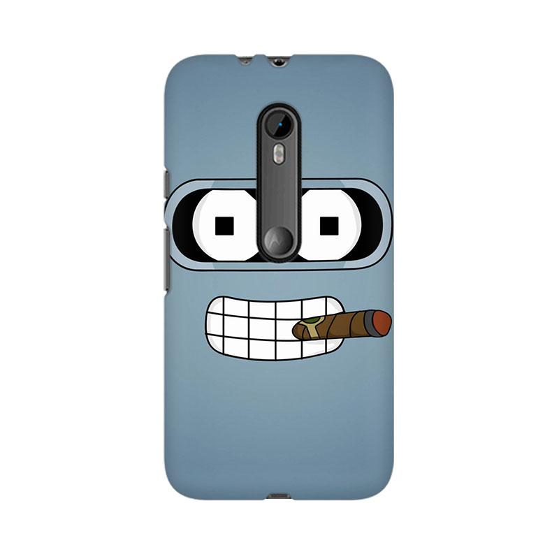 makwanaweb Moto X Play The Cigar Mobile Back Case Cover