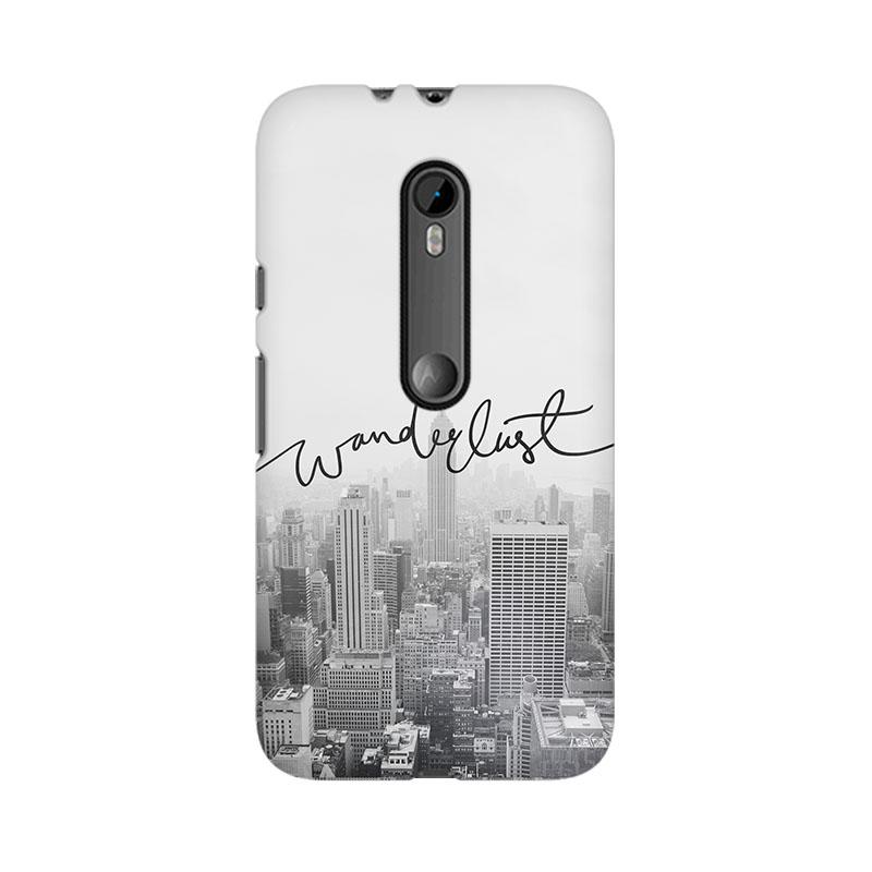 makwanaweb Moto X Play Wanderlust Mobile Back Case Cover