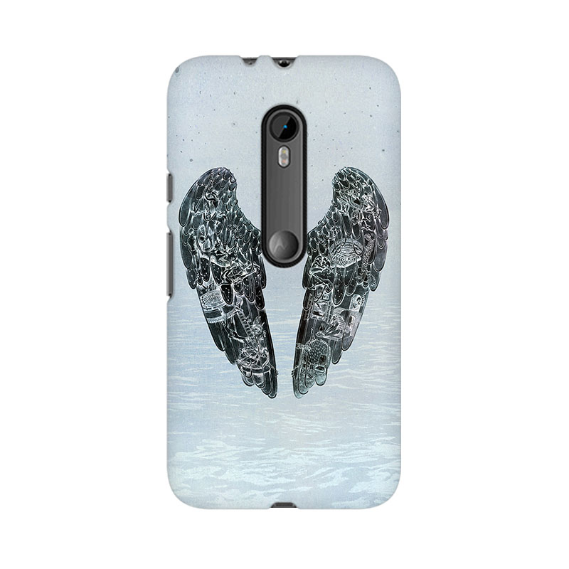 makwanaweb Moto X Play Wings Of Terror Mobile Back Case Cover