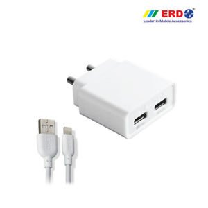 vishutraders Erd Charger For Xiaomi Redmi 4a Use Both Port At The Same Time (2amp Genuine Output)